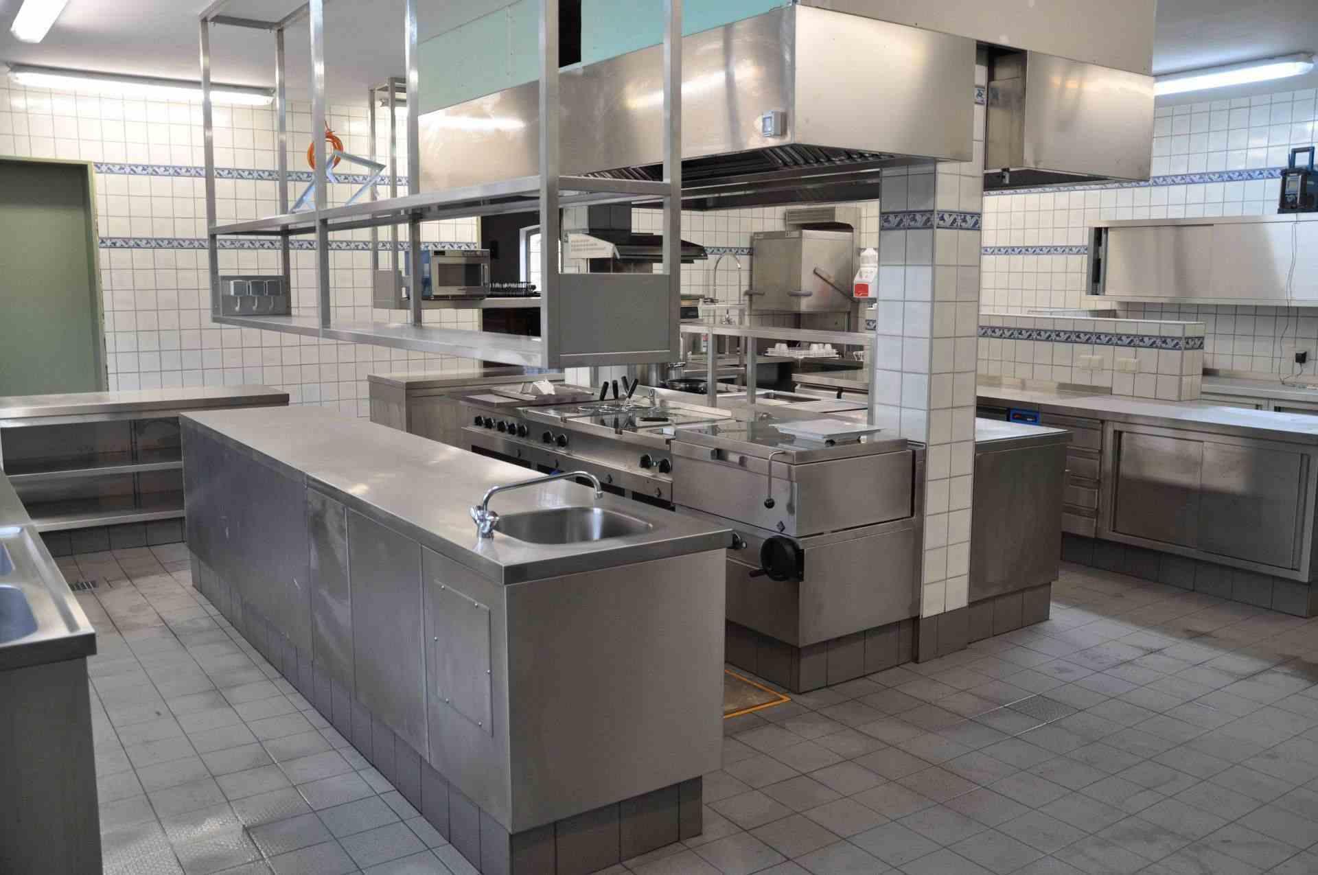 Foto der fertigen Großküche