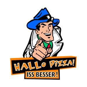 Hallo Pizza Logo
