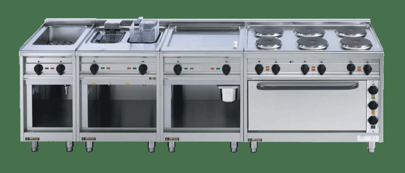 EKU Thermik 750 Kochstrecken Beispiel