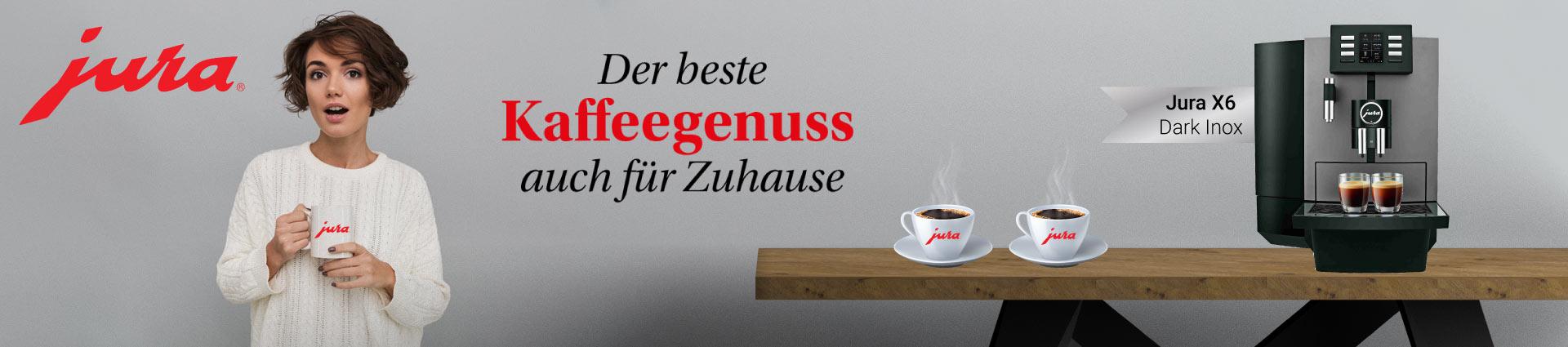 Jura X6 Dark Inox - Der beste Kaffeegenuss auch für Zuhause