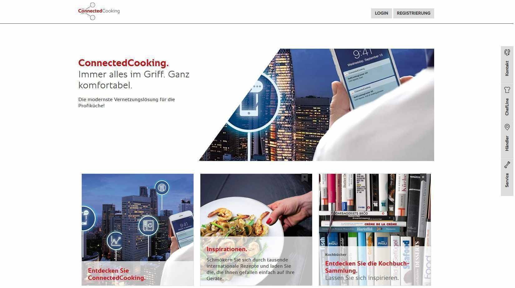 Rational ConnectedCooking LogIn