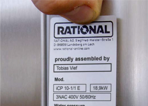 Rational iCombi Pro geprüfte Qualität