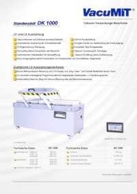 Info Flyer Vacumit Vacu DK 1000  pdf