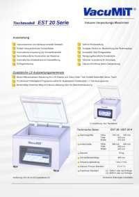 Info Flyer Vacumit Vacu EST 20  pdf