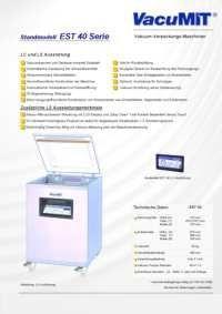 Info Flyer Vacumit EST 40 pdf