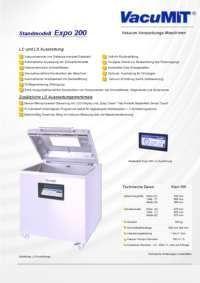 Verpackungsmaschine Expo 200 –  LS Steuerung