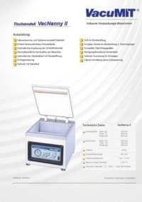 Info Flyer Vacumit Nany II pdf