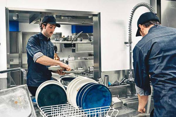 Winterhalter PT Serie Küchensituation